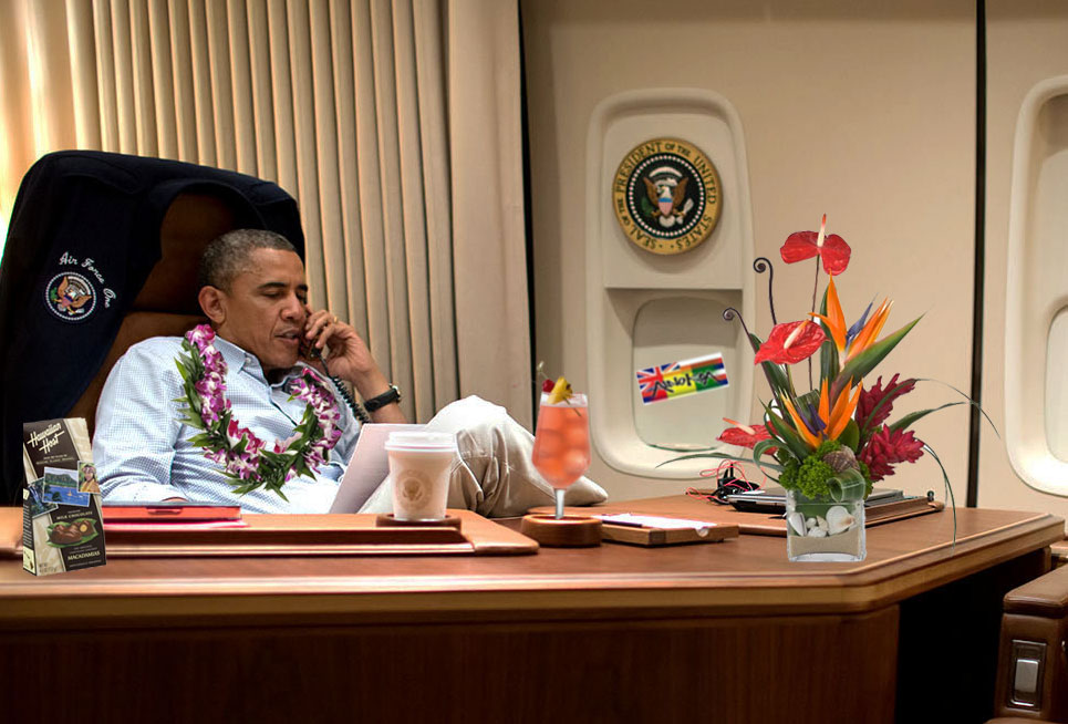 President Obama 39 S 2015 Hawaii Christmas Vacation In December