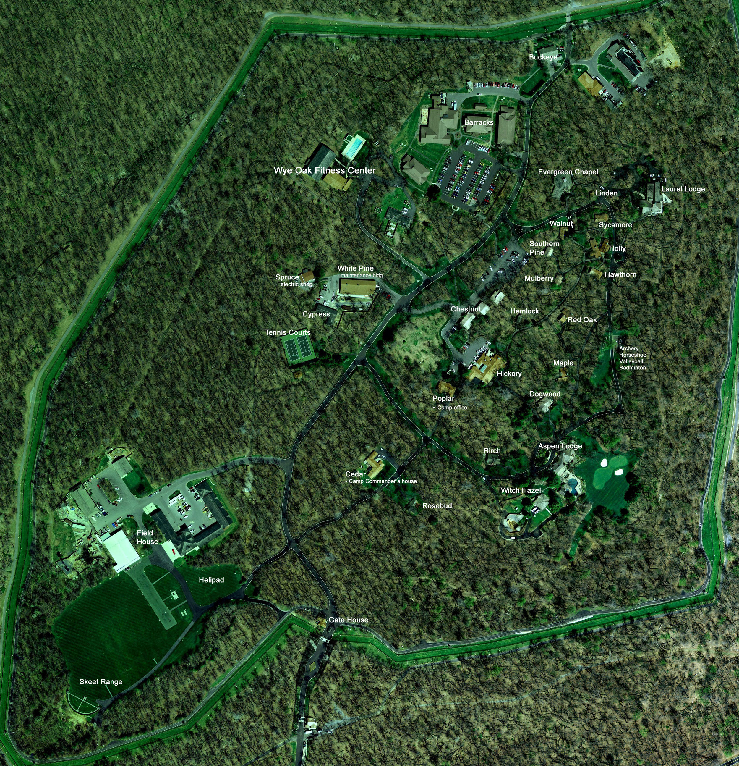 About Camp David Maps - Current google maps satellite