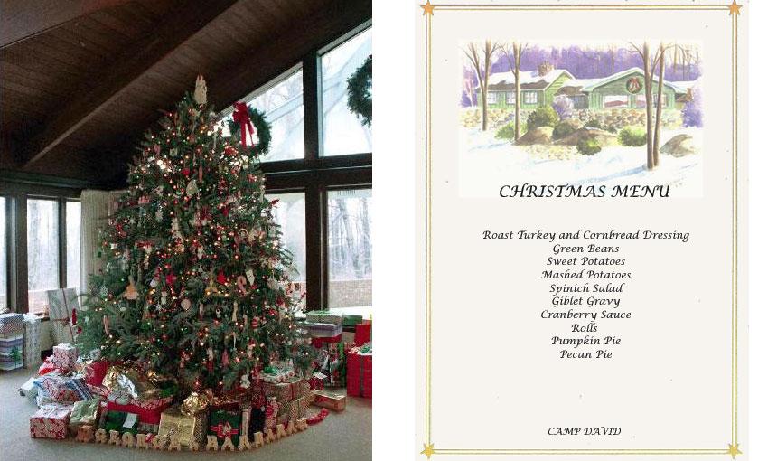 A Camp David Christmas At The Presidential Retreat - Camp Christmas Tree