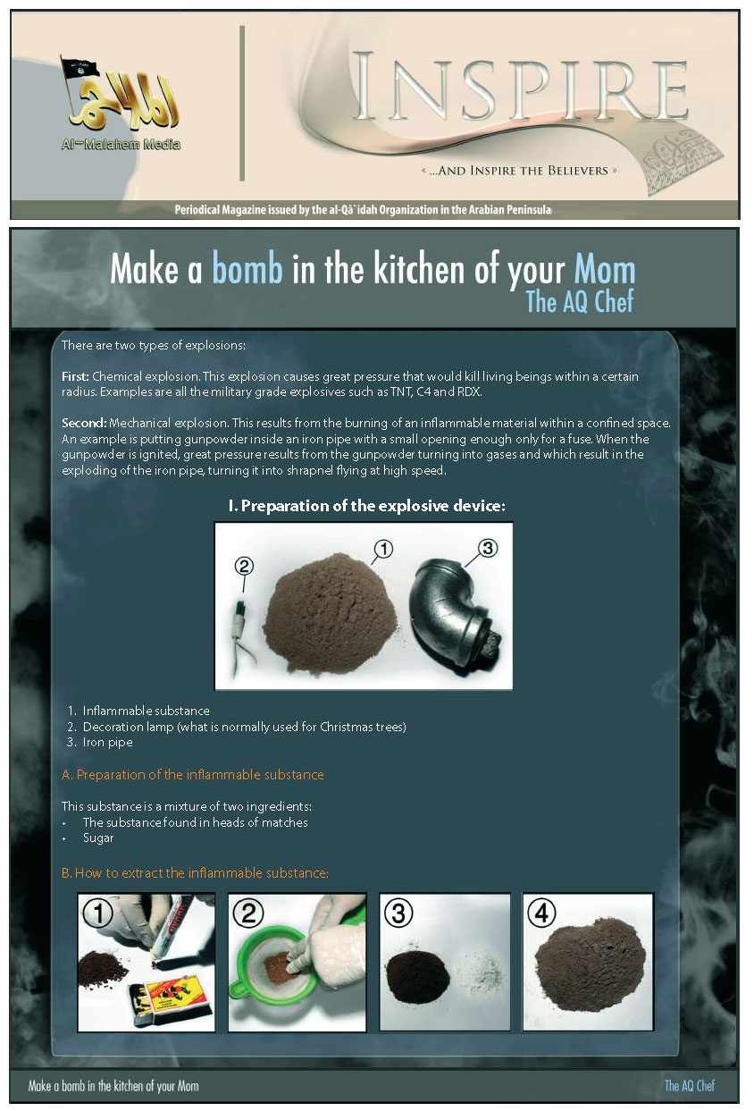 Inspire Magazine - Make a bomb in the kitchen of your Mom