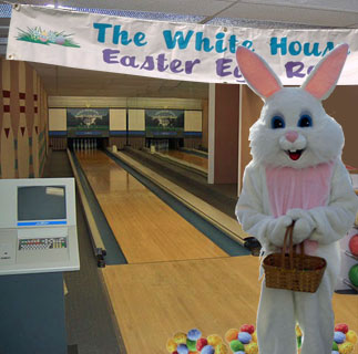 White House Easter Egg Roll Inside Outside And On Top