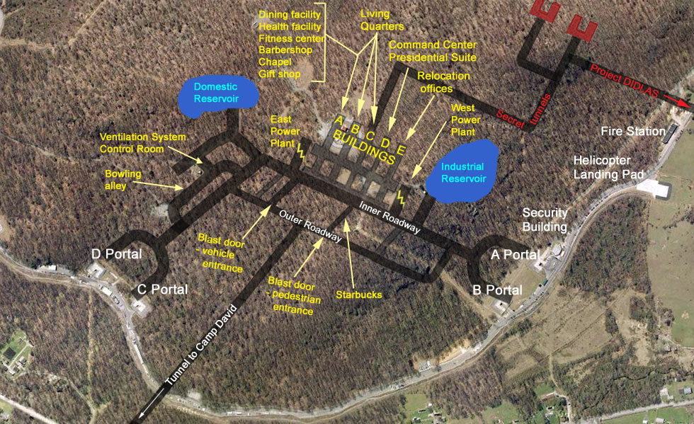 Raven Rock Mountain Complex Site R Map   980 x 599 jpeg 240kB