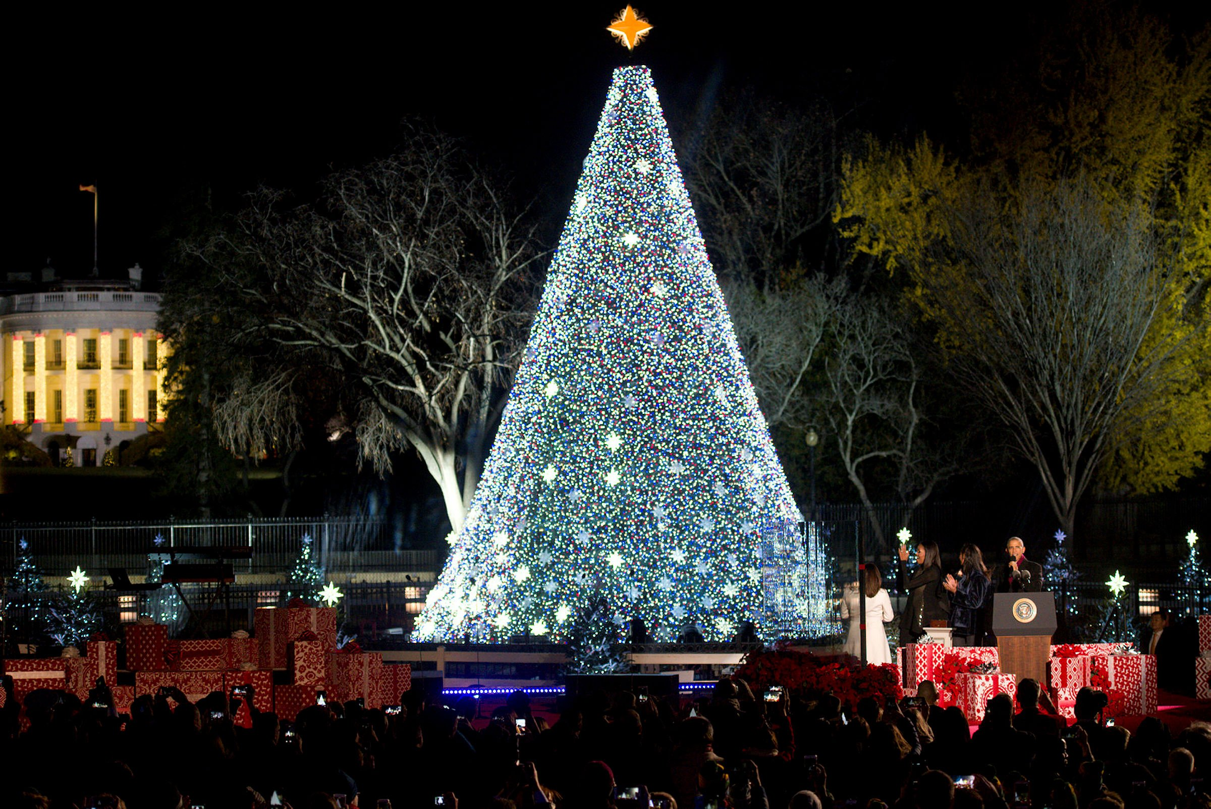 Christmas White House 2021 Sesame Street White House Christmas Tour 2021