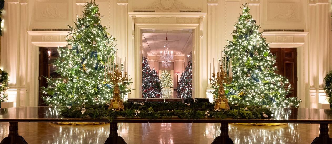 White House Christmas 2021 Skulls White House Christmas Tour 2021