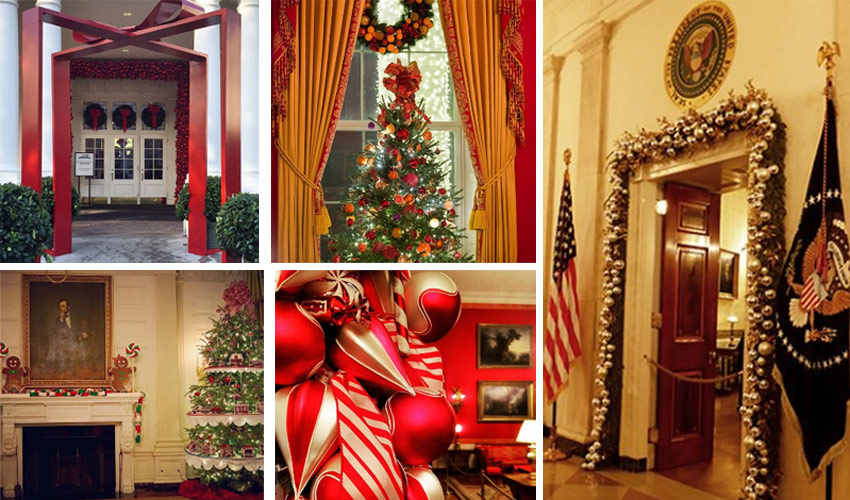 white house christmas tour photos