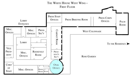 Susan Tattoo current white house floor plan