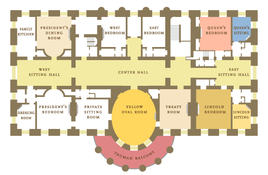 floor plan house. White House floor plan